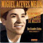 Foto del cantante Miguel Aceves Mejía